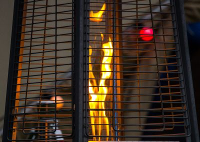 Pyramid Heater Flame