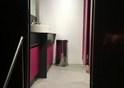 Luxury Toilet Block Womens